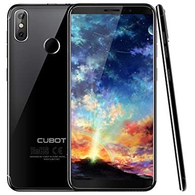 best service 8a375 6938a CUBOT J3 Pro (2018) Android Go 4G Smartphone, 18:9 FHD 5.5 inch Touch  Screen,1GB+16GB,13MP+5MP Camera, 2800mAh Battery, WIFI,GPS,Bluetooth (Black)