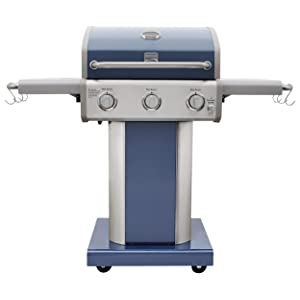 Kenmore PG-4030400LD-AZ-AM 3 Burner Outdoor Patio Gas BBQ Propane Grill