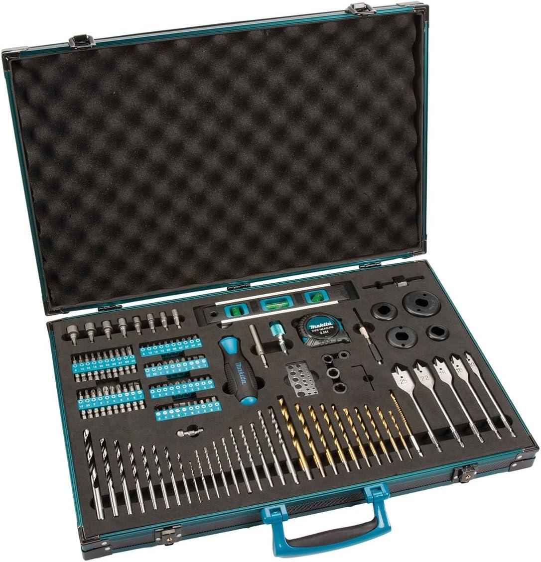 Makita p-90277Pro XL Kit de accesorios de brocas y destornillador (120)