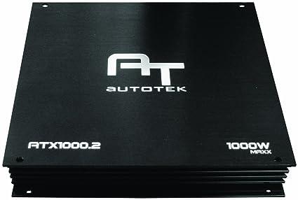 Autotek ATX1000 2 2 Channel 1000 Watt Maxx Amplifier: Amazon