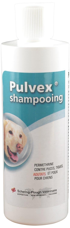 Pulvex Shampooing Antiparasitaire Tiques et Puces Aoutats Moustiques pour chien 200ml 8554