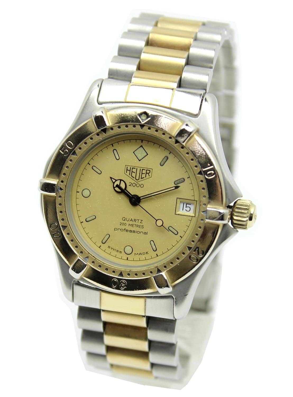 [ホイヤー]HEUER 腕時計 2000シリーズ プロフェッショナル200 クォーツ デイト ボーイズ 964.013[中古品] [並行輸入品] B07DRFVBTQ