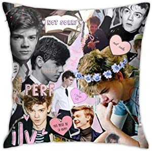 ZEMIOF Thomas Brodie Sangster Pillow Covers Pillow Cases Indoor Outdoor 4545cm