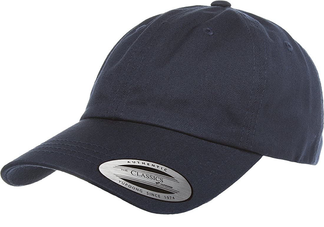 82377783a0d Flexfit Men s 6245CM Low Profile Cotton Twill Dad Hat O S Navy  Amazon.ca   Clothing   Accessories