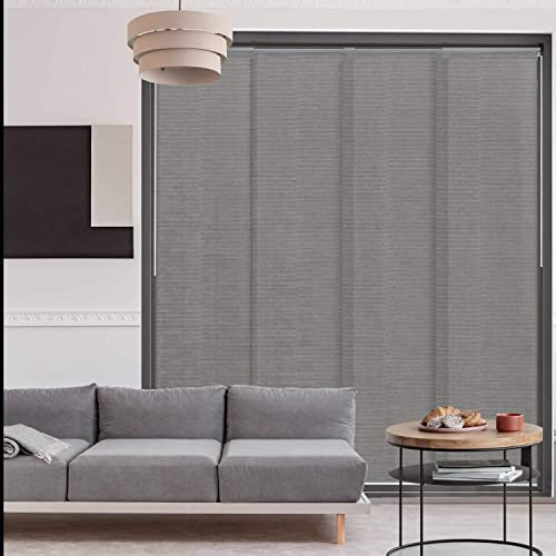 GoDear Design Deluxe Adjustable Sliding Panel Track Blind 45.8″