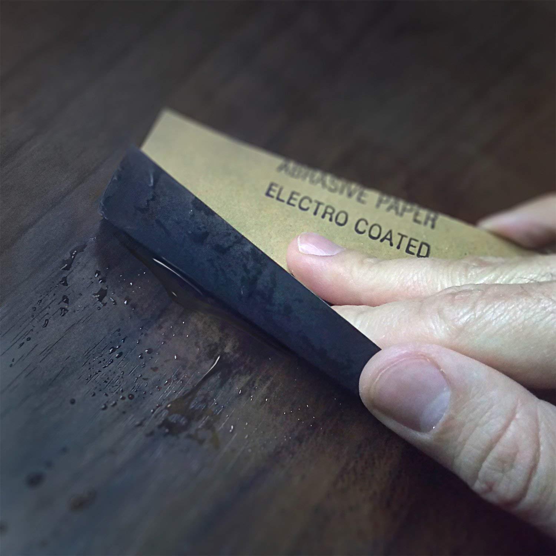 80-3000 grains m/étal 45 pi/èces I Mouill/é et sec I Papier de verre pour voiture laque meubles en bois Set de papier de verre professionnel pierre verre