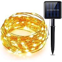 Cadenas de luces solares, ManroGo 10M 100 LED