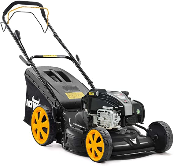 Mowox MNA152616 Self-Propelled Lawn Mower Powered by Briggs & Stratton 725 InStart Series Engine, Black