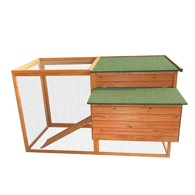 Eight24hours Caja de madera para aves, gallinero y caseta + libro electrónico: Amazon.es: Jardín
