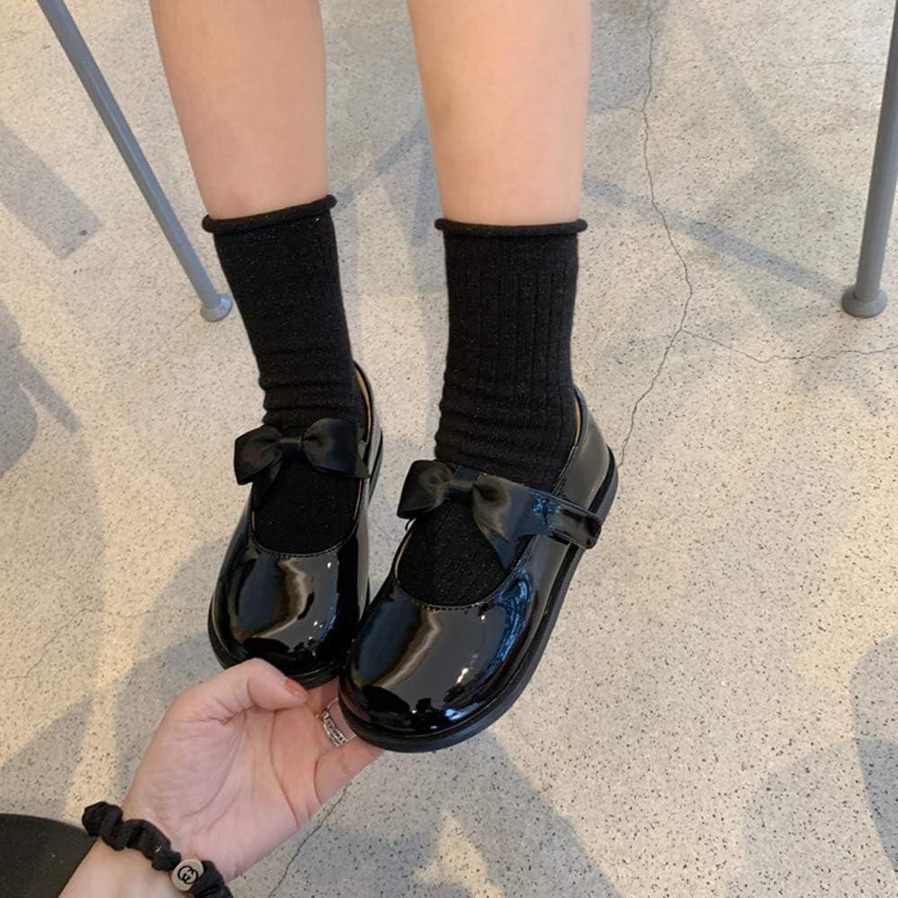 Tollder Girls Kids T-Strap Dress School Uniform Oxford