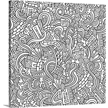 Amazon.com: Mandala Madness - Giant Wall Size Coloring Poster ...