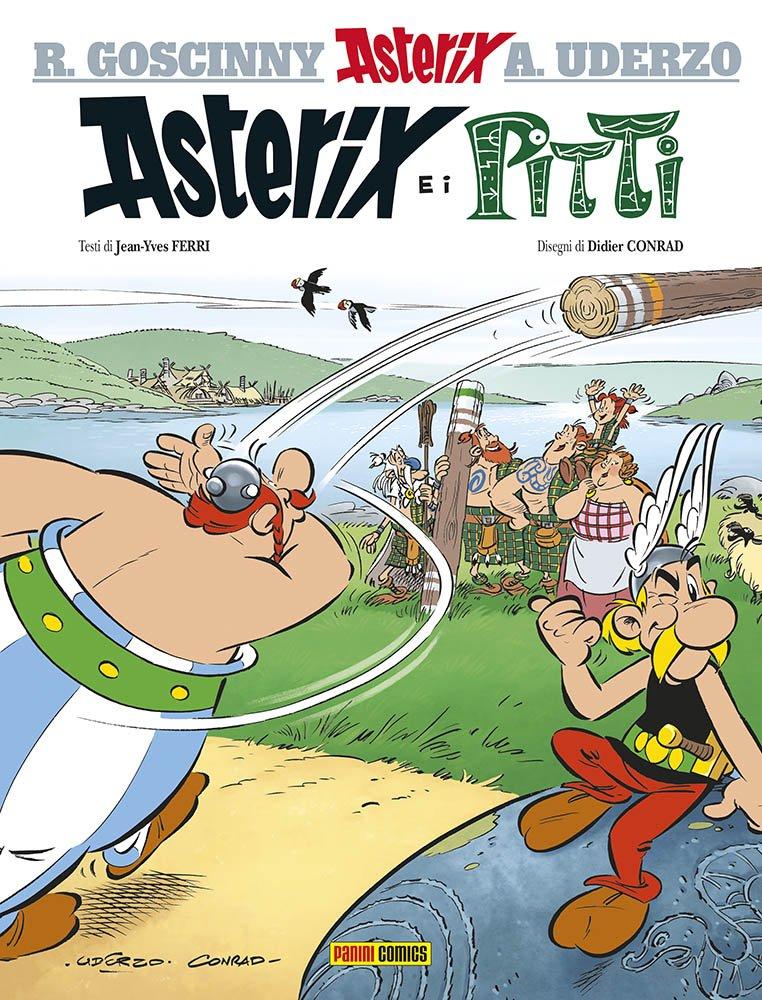 Read Online Asterix in Italian: Asterix e I Pitti ebook