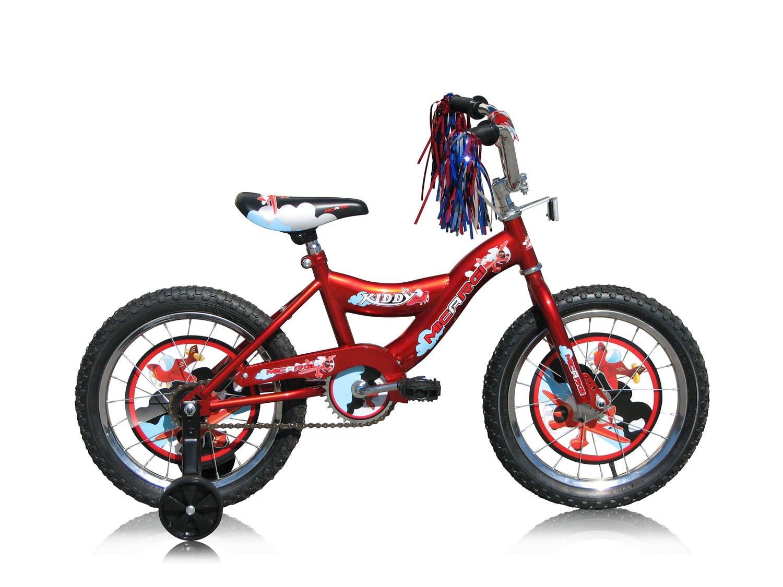 Micargi Kid's Cruiser Bike, Red, 16-Inch by Micargi   B00A7T53BA