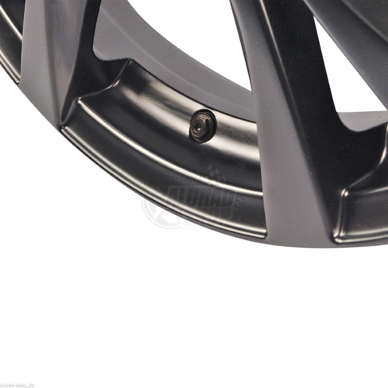4 Optivent Ventile Metallventil 11 3mm 4 Klebegewichte Wuchtgewichte Schwarz Baumarkt