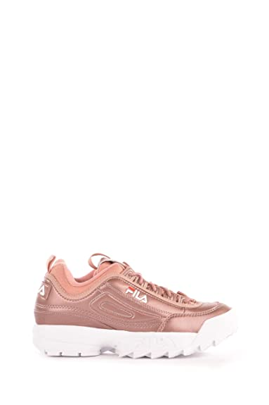 4100604451 Fila Disruptor MM Low Ash Rosegold 101044270X, Basket: Amazon.fr ...