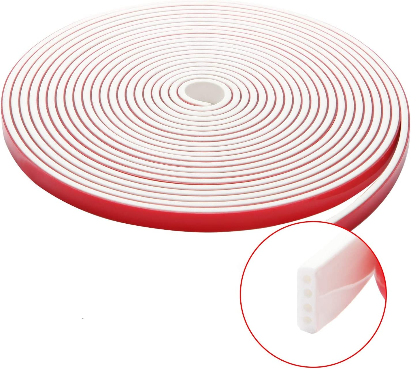 Silicone Rubber Sealing Strip Seal Multi functional Dustproof Soundproof