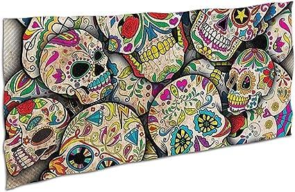 acheter serviette tete de mort online 28