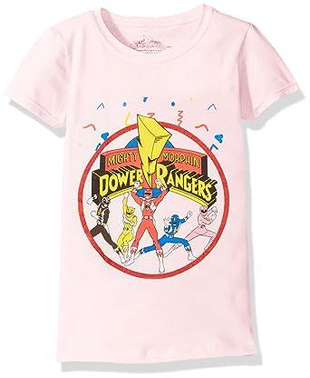 737feba4af Amazon.com  Power Rangers Girls  Ranger Cap Sleeve T-Shirt  Clothing