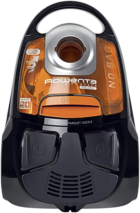 Rowenta RO2544WA Aspiradora sin Bolsa, 750 W, 1.2 litros, 77 Decibelios, Naranja/Negro: Amazon.es: Hogar