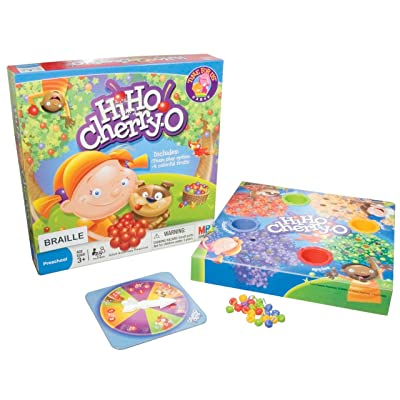 Hi Ho! Cherry-O Counting Game- Braille: Health & Personal Care