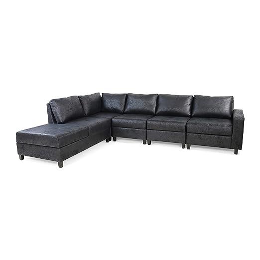 Kama Chaise Juego de sofá seccional, 5 plazas ...