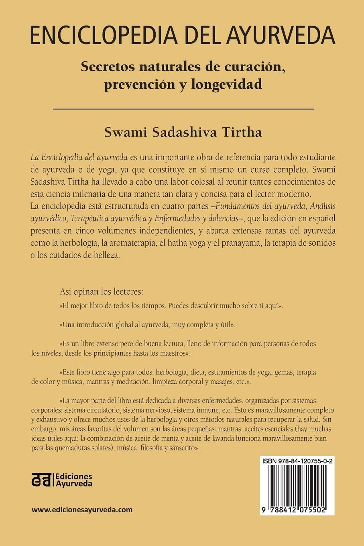 ENCICLOPEDIA DEL AYURVEDA - Volumen I: Secretos naturales de ...