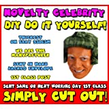 DIY - Do It Yourself Face Mask - Oompa Loompa Celebrity Face Mask