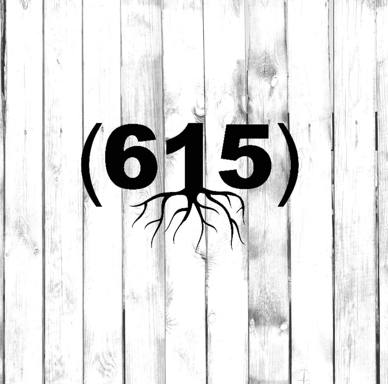 Amazon com: Nashville Roots - 615 Roots - Area Code Wall