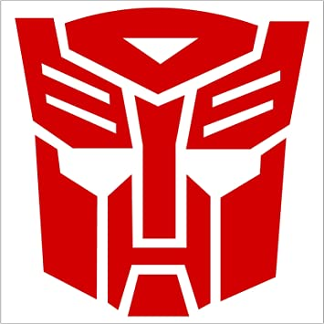 Transformers Autobot Vinyl Decal Autobot Sticker You Choose Size /& Color