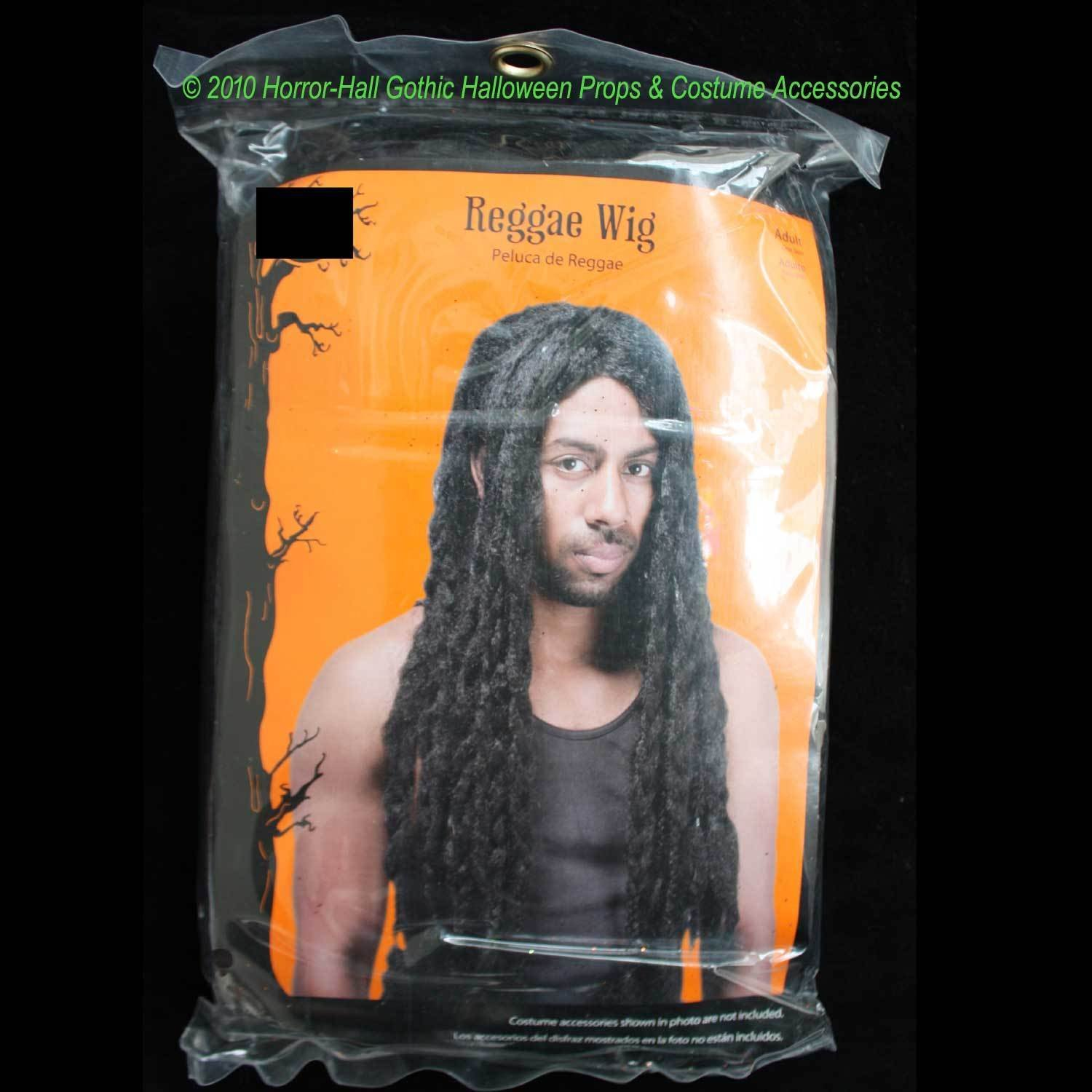 Amazon.com: LONG Dreadlocks Jamaican BLACK BRAID RASTA WIGUnisex Halloween Costume Accessory: Kitchen & Dining