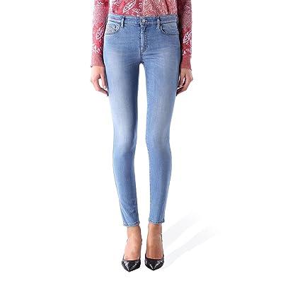 42f4d64de1 Diesel Doris 0672S Jeans pour femme Pantalons Super Slim Skinny
