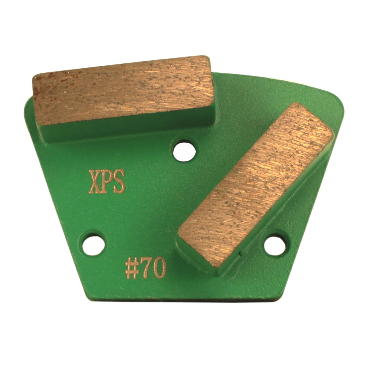 Surface Prep Stones Polished Concrete Grinding Pads 15mm Segment Trapezoid Discs (30/40 Grit)