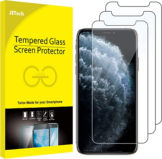 Jetech Screen Protector For Apple Iphone 11 Pro Iphone Xs And Iphone X 5 8 Inch Case Friendly Tempered Glass Film 3 Pack