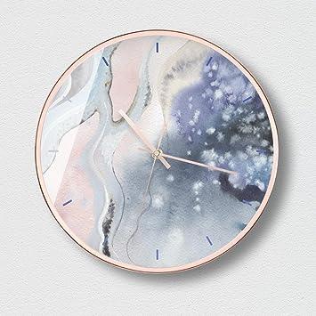 Aoligei Calendarios DE 12 Pulgadas de Calendario Digitales Reloj Pared Moderno Reloj de Pared El Reloj de Pared Perfecto para una Oficina, salón de Clases, ...