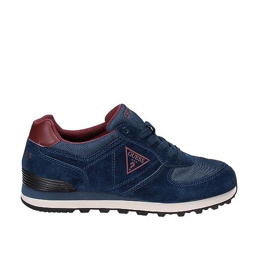 Guess FMCHA3 SUE12 Sneakers Uomo Blu 41: Amazon.it: Scarpe e