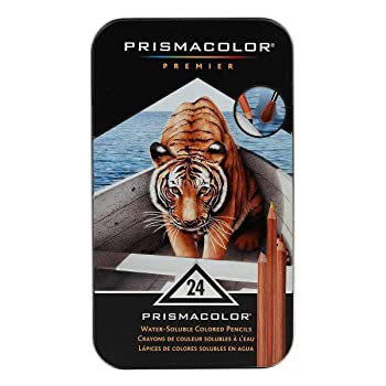 Sanford Prismacolor Premier Water-Soluble Colored Pencils