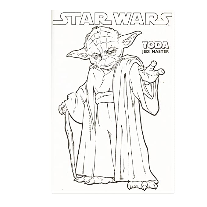 Classic Star Wars Giant Coloring Book With Stickers 144 Pages