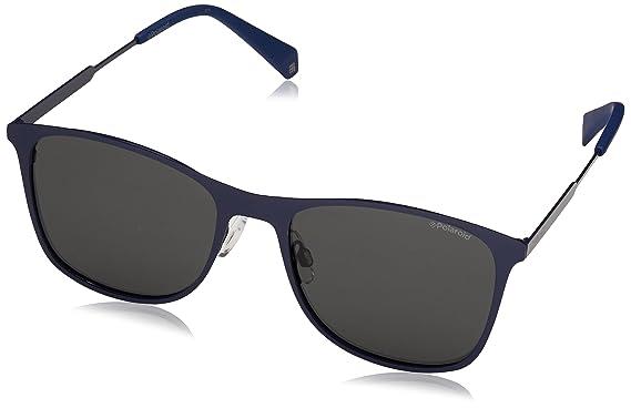 Polaroid Herren Sonnenbrille Pld 2051/S M9 Pjp, Blau (Bluette/Grey Pz), 54