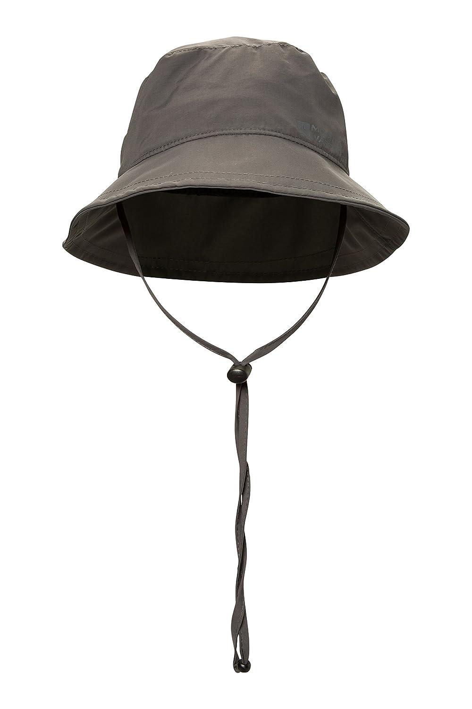963178681fa98 Mountain Warehouse IsoDry Mens Bucket Hat - Breathable Summer Cap Grey:  Amazon.ca: Sports & Outdoors