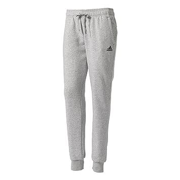 adidas Damen Essentials Solid Hose, Medium Grey Heather Black, XS S bc727b2120