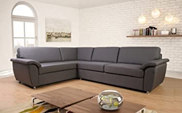 Ecksofa Garnitur Couch Modena Made In Germany 4 Stoffe 18 Farben