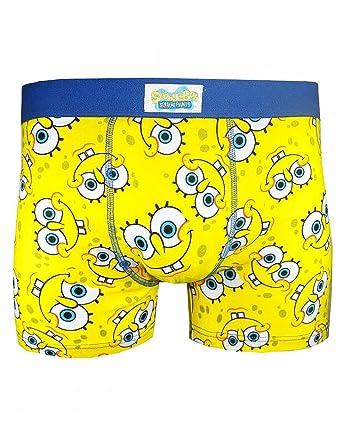 de2842b024 Official Spongebob Squarepants Eyes Boxer Shorts (L): Amazon.co.uk: Clothing