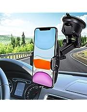 Support Téléphone Voiture,Mpow Support Téléphone Voiture[Nouveauté] pour Tableau de Bord Pare-Brise,Réutilisable Support de Téléphone Portable pour iPhone 11 Pro/XS Max/XR, Galaxy, Huawei,GPS, etc