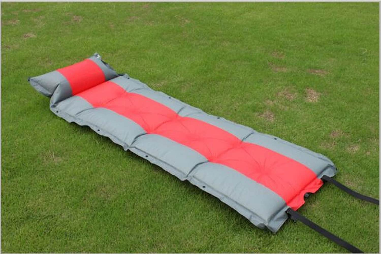 Outdoor Zelte Automatische Aufblasbare Kissen Single Kann Genäht Werden Double Moisture Pad,ROT