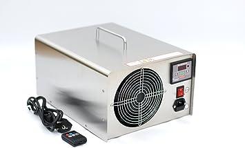 Generador de ozono profesional, 60000 mg/h, 60 g/h, dispositivo de ozono, purificador de aire NP60+, con mando a distancia para coche y vivienda: Amazon.es: Bricolaje ...