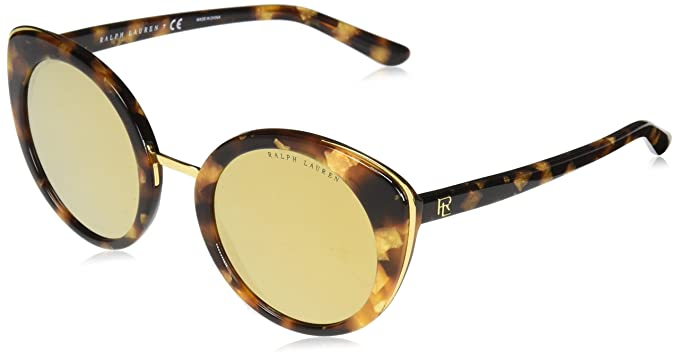 Ralph Lauren 0RL8165 Gafas de sol, Havana Gold, 52 para ...