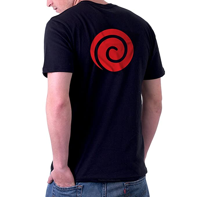 TheShirtDudes Uzumaki Clan Naruto - Adult T-Shirt for Anime Cosplay