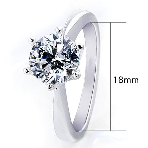MultiWare Fashion 925 Solid Sterling Silver Ring Classic Women Beautiful Gift Mg9XocGgWb