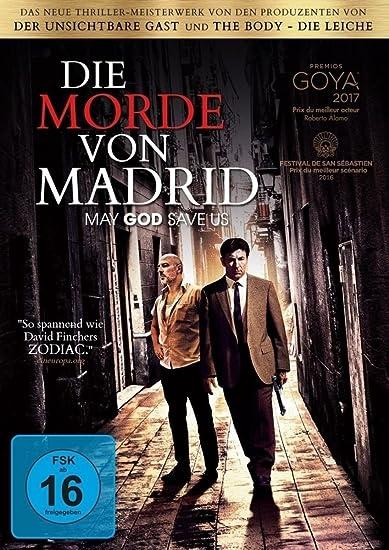 Cover: Die Morde von Madrid 1 DVD (circa 111 min)