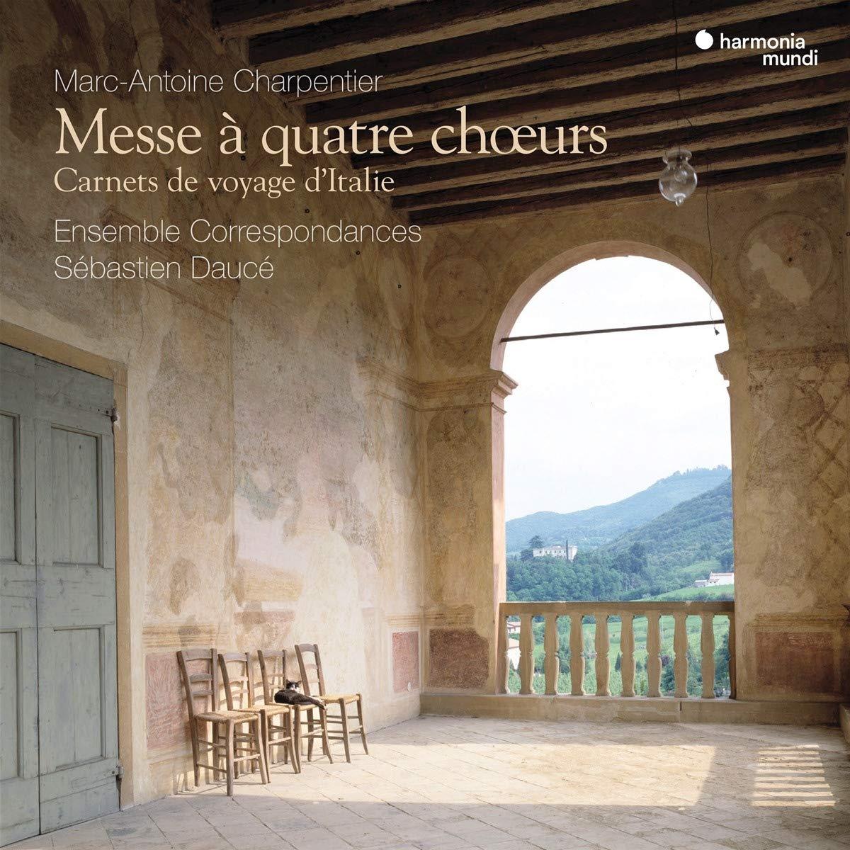 Charpentier: Messe À Quatre Chœurs. Carnets de Voyage d'Italie: Ensemble  Correspondances, Sébastien Daucé: Amazon.fr: Musique